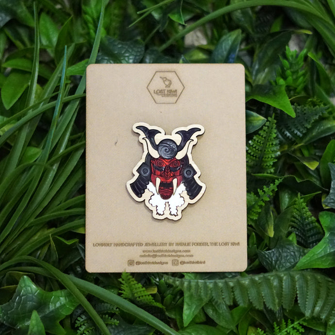 Oni Demon Brooch