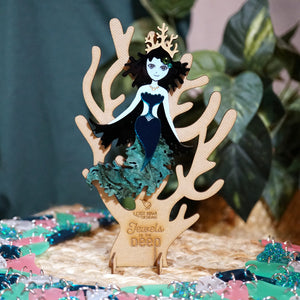 Kelp Mermaid Brooch