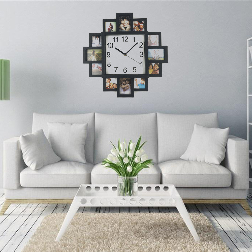 Large modern photo frame clock wares for my home large modern photo frame clock amipublicfo Gallery
