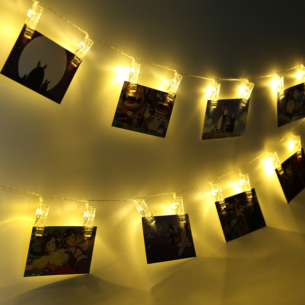 LED Photo Clip String Lights Decoration – Wares For My Home