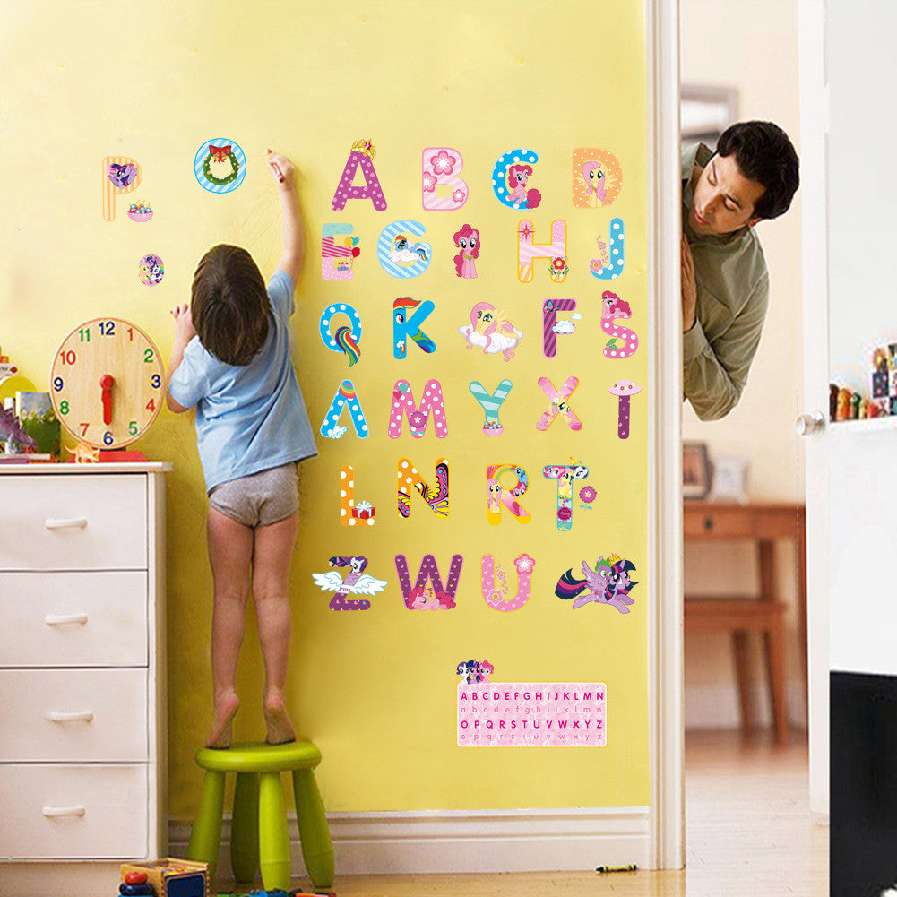 Alphabet Letters Wall Decal – Wares For My Home