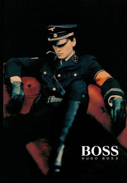 nazis hugo boss fashion design SS uniform