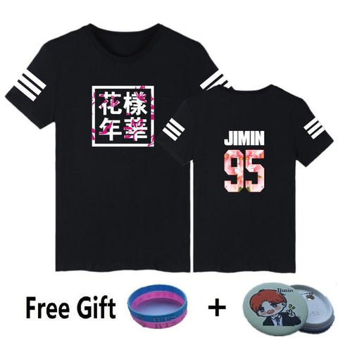 Korean K-Pop 95 T-Shirt + Free Gift - Grunge Attire