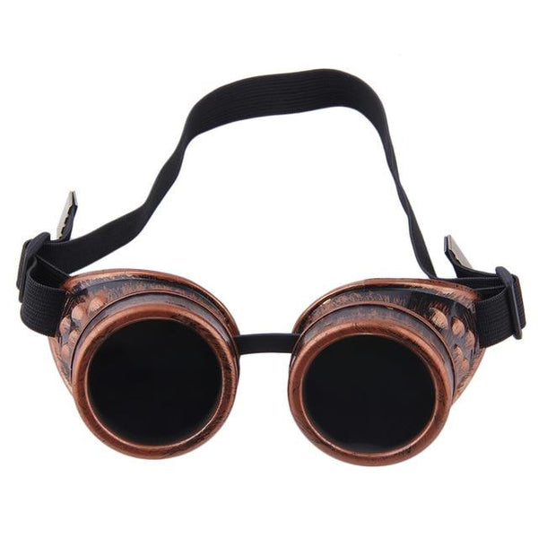 Steampunk Retro Gothic Glasses - Grunge Attire