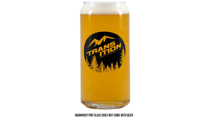 Transition 16oz Pint Glass
