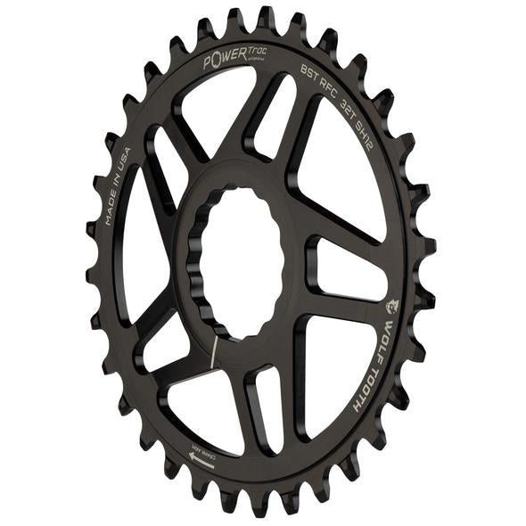 Wolftooth Race Face DM Elliptical for Shimano Hyperglide+ 12spd Chain
