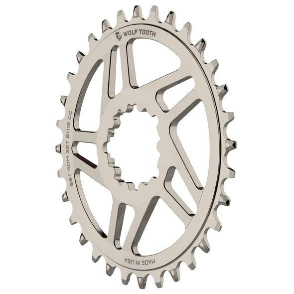 Wolftooth Direct Mount Chainrings for Cane Creek and SRAM Cranks for Shimano 12spd Hyperglide+ Chain