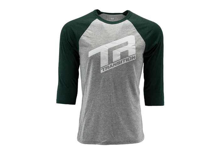Transition 3/4 Sleeve TR Logo Deep Sea Green