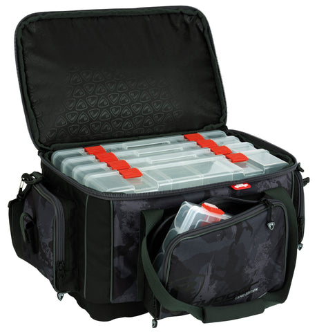 Fox Rage Voyager Camo Large Carryal inkl. 5 Boxen (2658097889365)