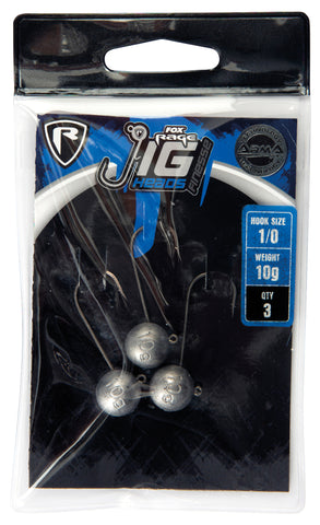 Fox Rage Jig Head Finnesse #4/0 - Blister 3Stk. (4502689644629)