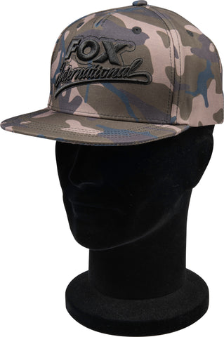 Fox College Flat Peaked Snap Back Camo