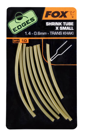 Fox Edges Shrink Tube Trans Khaki (4340169637973)