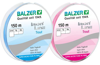 Balzer Iron Line Trout 150m/0.04mm/2.8kg (4785881186389)
