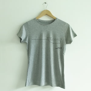 "Women's T-shirt ""Moby-Dick"""
