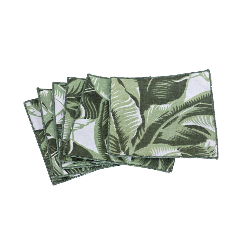Coaster Banana Leaf