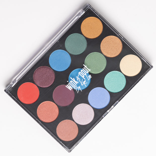 15 Shade Cool Eyeshadow Palette