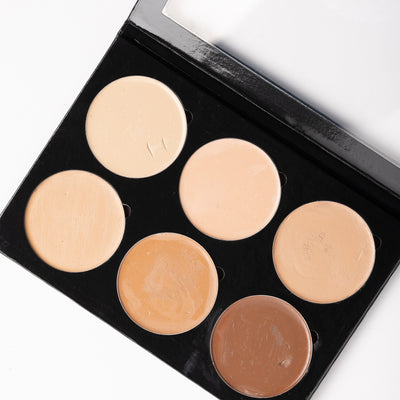 6 Shade Foundation Palette