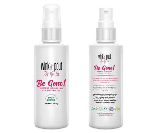 "NEW PRODUCT ALERT! ""BE GONE"" Makeup Remover. WinknPouts ""Miracle Oil"""