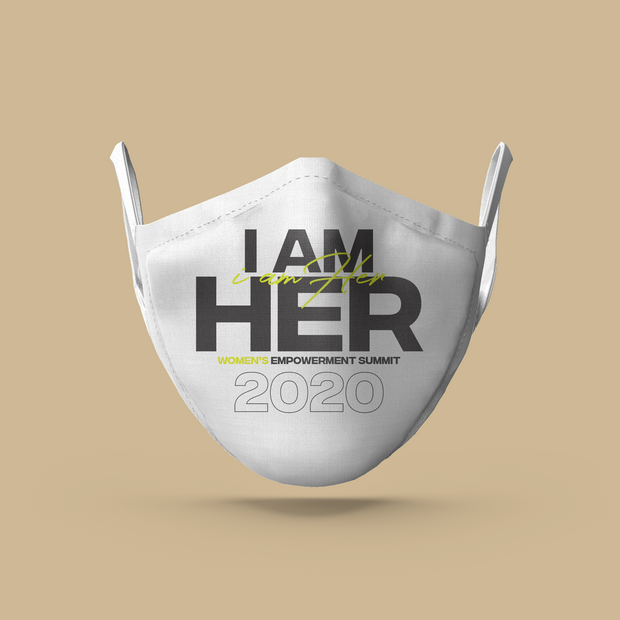 IAMHER Mask White