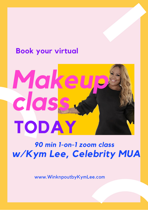 Virtual Makeup Tutorial with KYM LEE (Celebrity MUA)