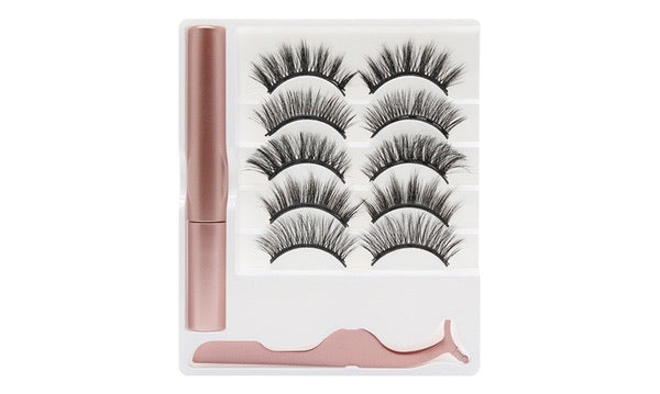 Magnetic Eyelashes (5 pairs).  PRE-ORDER will Arrive in 14 Days