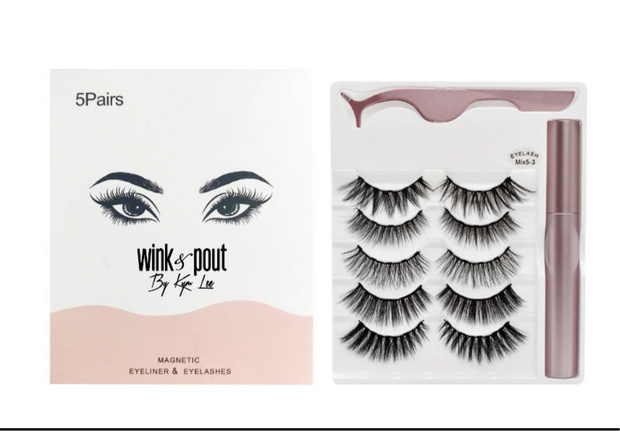 Magnetic Eyelashes (PRE-ORDER NOW). 14-Day Delivery