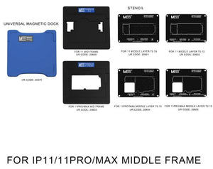 MaAnt Magnetic Reballing Platform for iPhone 11/11PRO/11PROMAX Mid Frame
