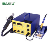 BAKU BK-701L LED Digital BGA Rework Station Hot Air Gun with Soldering Iron