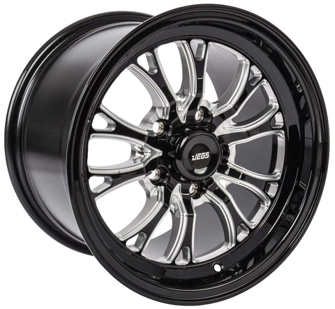 "JEGS SSR Spike Wheel Size: 15"" x 10"" Bolt Pattern: 5 x120.65 7.5BS"