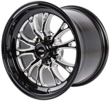 "JEGS SSR Spike Wheel Size: 15"" x 10""  Bolt Pattern: 5 x 4.75"""