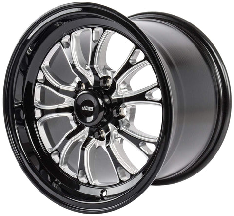 "JEGS SSR Spike Wheel Size: 17"" x 10"" 5 x 120.65"