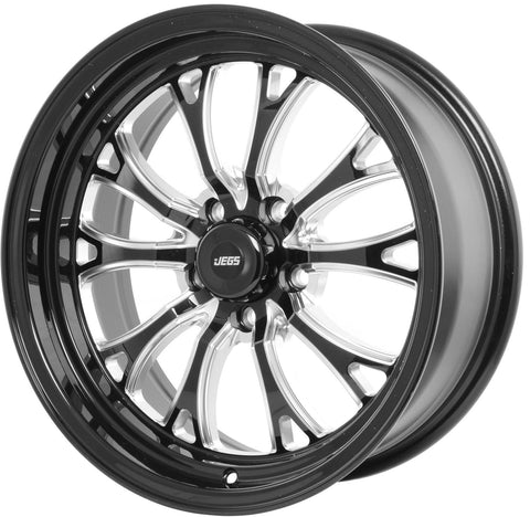 "JEGS SSR Spike Wheel Size: 17"" x 8""  5 x 120.65"