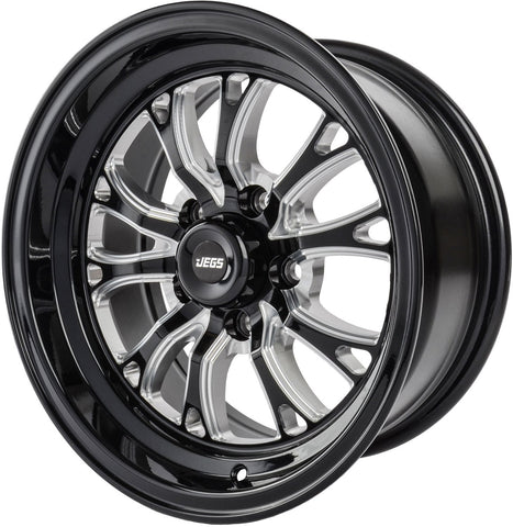 "JEGS SSR Spike Size: 15"" x 8""  Bolt Pattern: 5 x 120.65 4.5BS"