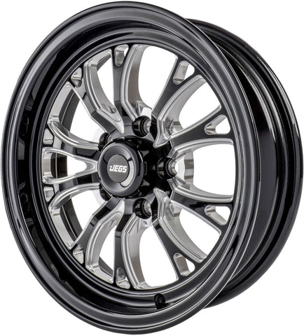 "JEGS SSR Spike Size: 15"" x 4"" Bolt Pattern: 5 x 114.3 1.75BS"
