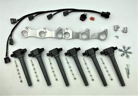 RB R35 VR38 COIL BRACKET KIT (RB30 SOHC)