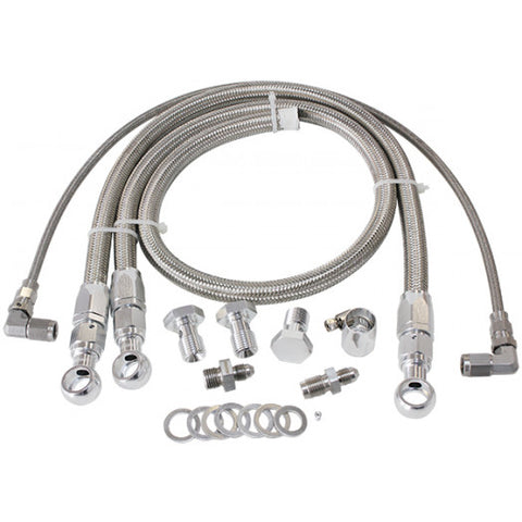 Turbo Oil & Water Feed Line Kit Suit Nissan RB20, RB25, RB26, RB30