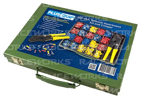 Terminal Assortment Kit & Crimper