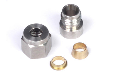 "1/4"" Stainless Steel Weld-on Kit"