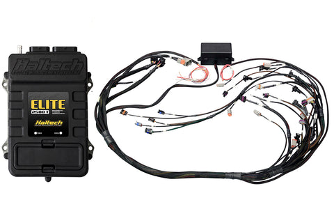 Elite 2500 T + GM GEN III LS1 & LS6 (DBW Retrofit Ready) Terminated Harness Kit INJECTOR CONNECTOR: Bosch EV1 (as per factory)
