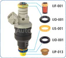 Fuel Injector Service Kit