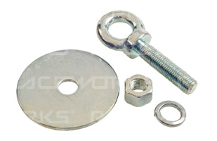 RACEWORKS HARNESS EYE BOLT WITH NUT AND WASHER
