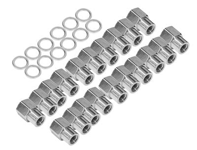"Ford 1/2"" Suit Convo Pro 0.55 Nut & Washer Kit Chrome"