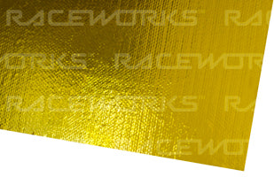GOLD HEAT SHIELD SHEET SELF ADHESIVE
