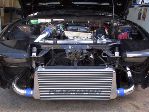 S13/180SX Pro Series Tube & Fin Intercooler Kit