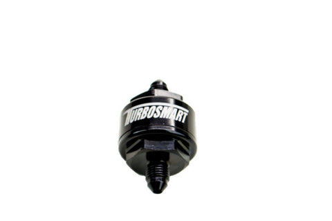 Billet Turbo Oil Feed Filter 44um -3AN – Black