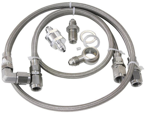TURBO FEED OIL LINE KIT 30 MICRON FILTER FORD BA-BF AF30-1000