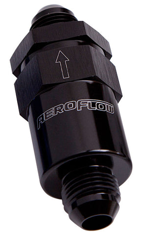 Aeroflow 30 Micron Billet Fuel Filter -6AN