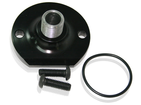 Billet Oil Bypass Eliminator Mount - Black   AF64-2055BLK