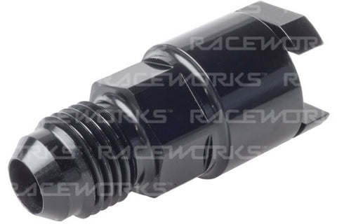 Raceworks Female EFI Adaptor - All Billet Straight