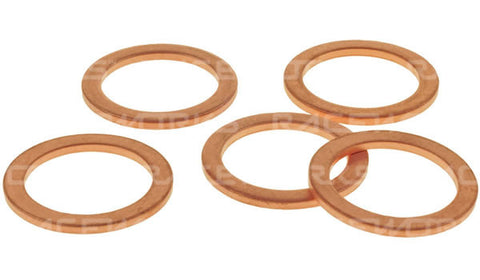 Raceworks Copper Washers  (5 pack)